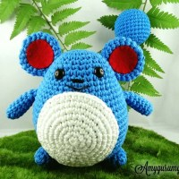 Marill, a cute blue mouse